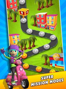 اسکرین شات بازی Subway Scooters Free -Run Race 4