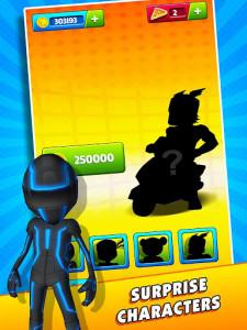 اسکرین شات بازی Subway Scooters Free -Run Race 6