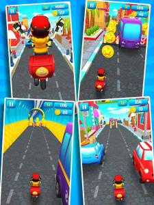 اسکرین شات بازی Subway Scooters Free -Run Race 2