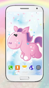 اسکرین شات برنامه Cute Pony Live Wallpapers 4