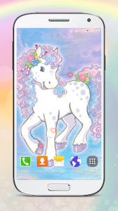 اسکرین شات برنامه Cute Pony Live Wallpapers 5