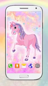 اسکرین شات برنامه Cute Pony Live Wallpapers 1