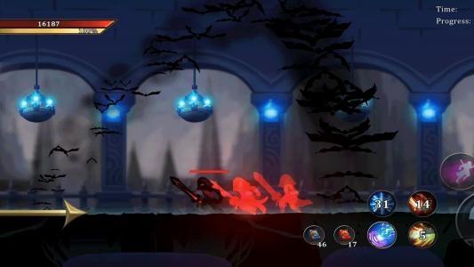 اسکرین شات بازی جنگجویان افسانه ای : نبرد در تاریکی 2