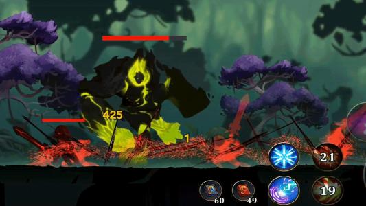 اسکرین شات بازی جنگجویان افسانه ای : نبرد در تاریکی 3