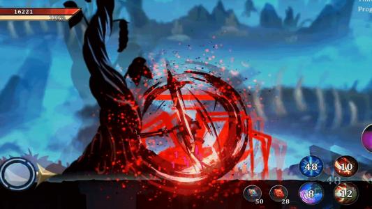 اسکرین شات بازی جنگجویان افسانه ای : نبرد در تاریکی 1