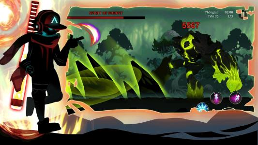 اسکرین شات بازی جنگجویان افسانه ای : نبرد در تاریکی 4