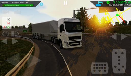 اسکرین شات بازی Heavy Truck Simulator 5