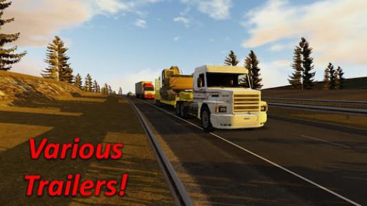 اسکرین شات بازی Heavy Truck Simulator 3