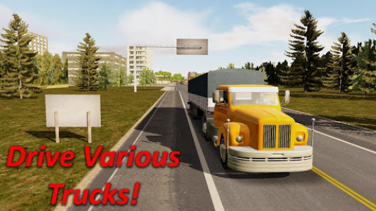 اسکرین شات بازی Heavy Truck Simulator 4