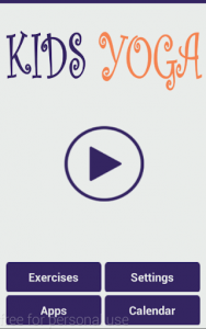 اسکرین شات برنامه Yoga for Kids 1