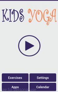 اسکرین شات برنامه Yoga for Kids 7