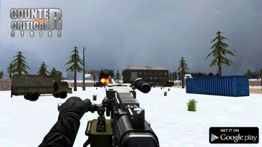 اسکرین شات بازی Counter Critical Strike CS: FPS Gun Shooting Game 1