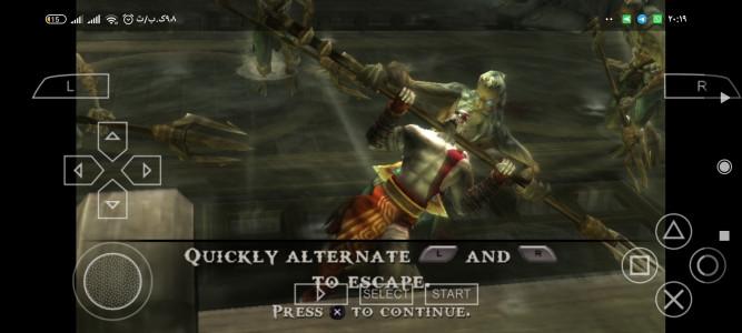 اسکرین شات بازی بازی خدای جنگ koutan no kokuin 1