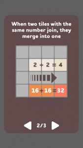 اسکرین شات بازی 2048 3