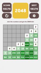 اسکرین شات بازی 2048 8