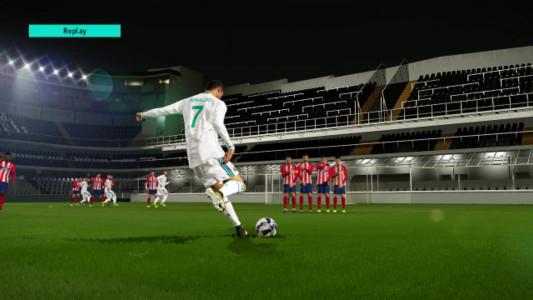 اسکرین شات بازی آموزش PES 2018 4