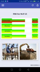 اسکرین شات برنامه مدیریت پروژه 2