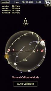 اسکرین شات برنامه Sun & Moon Tracker 2