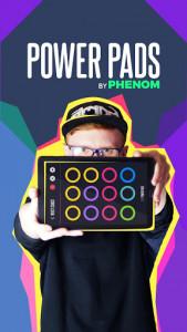اسکرین شات برنامه Power Pads - Drum Pad: Music Maker / Beat Maker 1