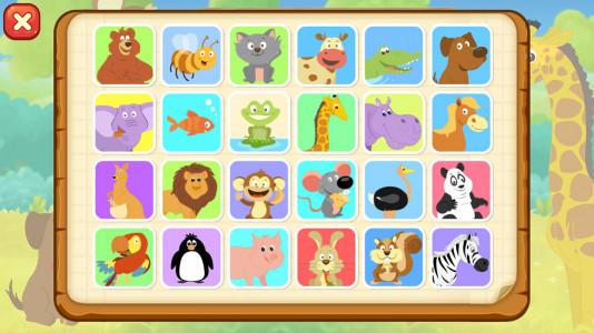 اسکرین شات بازی جنگل شاد الفبا - سرگرمی آموزش کودک 2