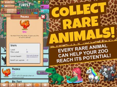 اسکرین شات بازی Idle Tap Zoo: Tap, Build & Upgrade a Custom Zoo 6