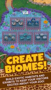 اسکرین شات بازی Idle Tap Zoo: Tap, Build & Upgrade a Custom Zoo 5
