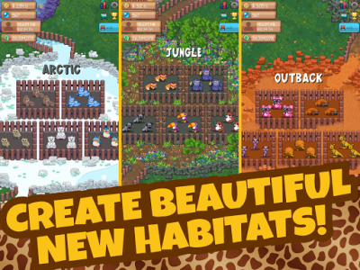 اسکرین شات بازی Idle Tap Zoo: Tap, Build & Upgrade a Custom Zoo 7