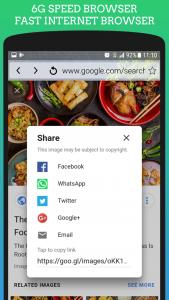 اسکرین شات برنامه Uc 4G Browser Mini: Turbo & Fast - Speed Internet 4