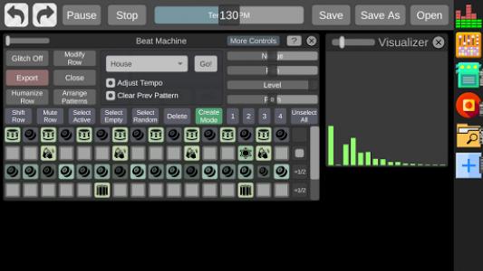 اسکرین شات برنامه Beat Machine - Audio Sequencer 2