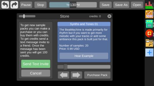 اسکرین شات برنامه Beat Machine - Audio Sequencer 5