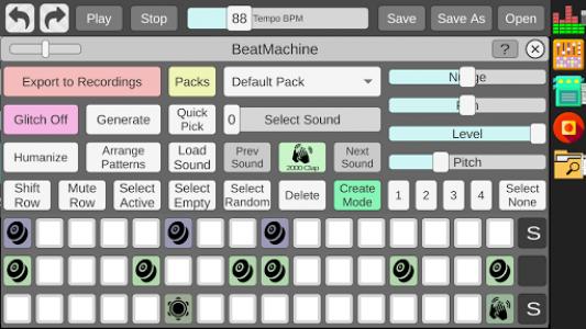 اسکرین شات برنامه Beat Machine - Audio Sequencer 6