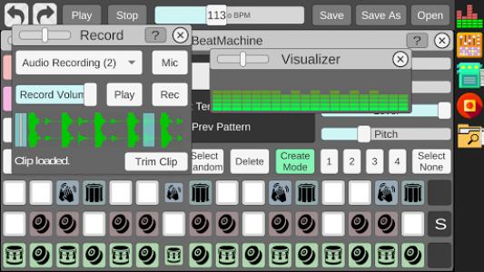 اسکرین شات برنامه Beat Machine - Audio Sequencer 7