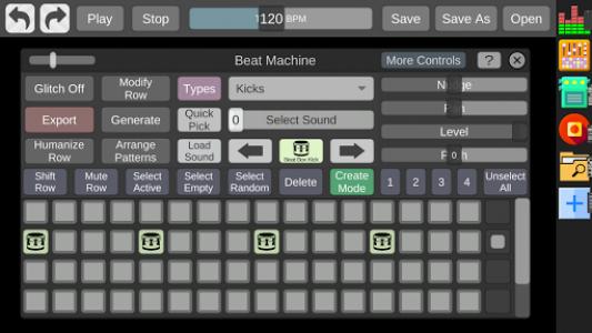 اسکرین شات برنامه Beat Machine - Audio Sequencer 1