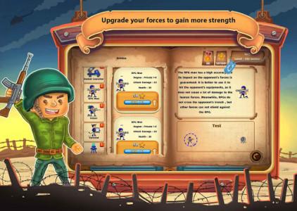اسکرین شات بازی جنگ کاغذی : آنلاین دو نفره 5