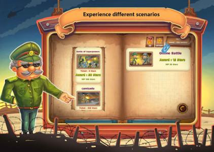 اسکرین شات بازی جنگ کاغذی : آنلاین دو نفره 6