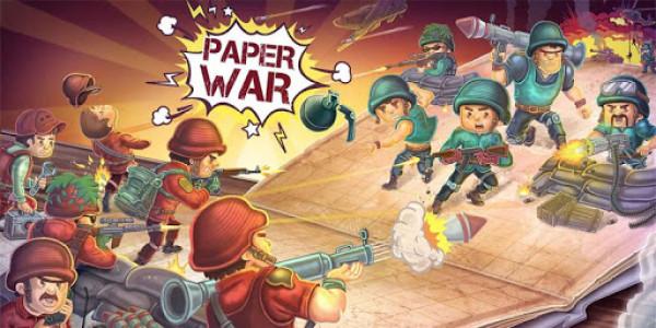 اسکرین شات بازی جنگ کاغذی : آنلاین دو نفره 1