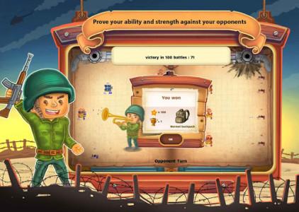 اسکرین شات بازی جنگ کاغذی : آنلاین دو نفره 3