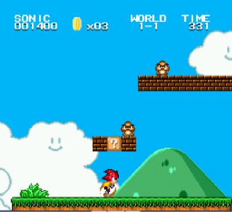 اسکرین شات بازی سونیک قارچ خور HD سگا 3