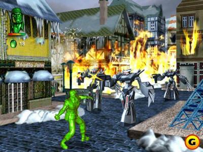 اسکرین شات بازی ارتش شجاع HD دو نفره+ کد تقلب 8