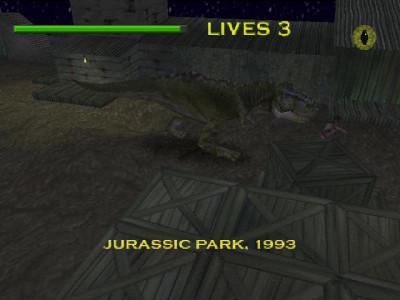 اسکرین شات بازی پارک ژوراسیک HD سونی 1+نسوزکننده 3