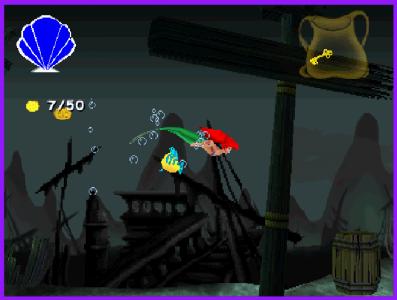 اسکرین شات بازی پری دریایی HD+نسوزکننده سونی 1 7