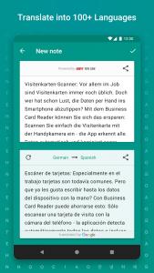 اسکرین شات برنامه TextGrabber Offline Scan & Translate Photo to Text 5