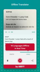 اسکرین شات برنامه TextGrabber Offline Scan & Translate Photo to Text 1