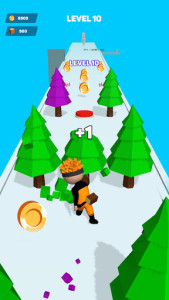 اسکرین شات بازی Lumber Rush - Craft World: Craft Runner Remaster 1