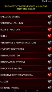 اسکرین شات برنامه آناتومی جامع بدن انسان 4
