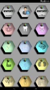 اسکرین شات برنامه آناتومی جامع بدن انسان 3