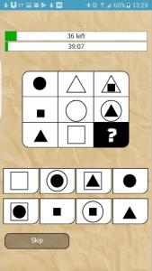 اسکرین شات برنامه IQ Test 2