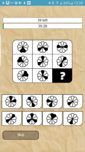 اسکرین شات برنامه IQ Test 1