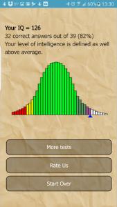 اسکرین شات برنامه IQ Test 3