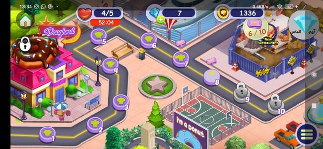 اسکرین شات بازی سراشپزباشی رستوران ملل 3